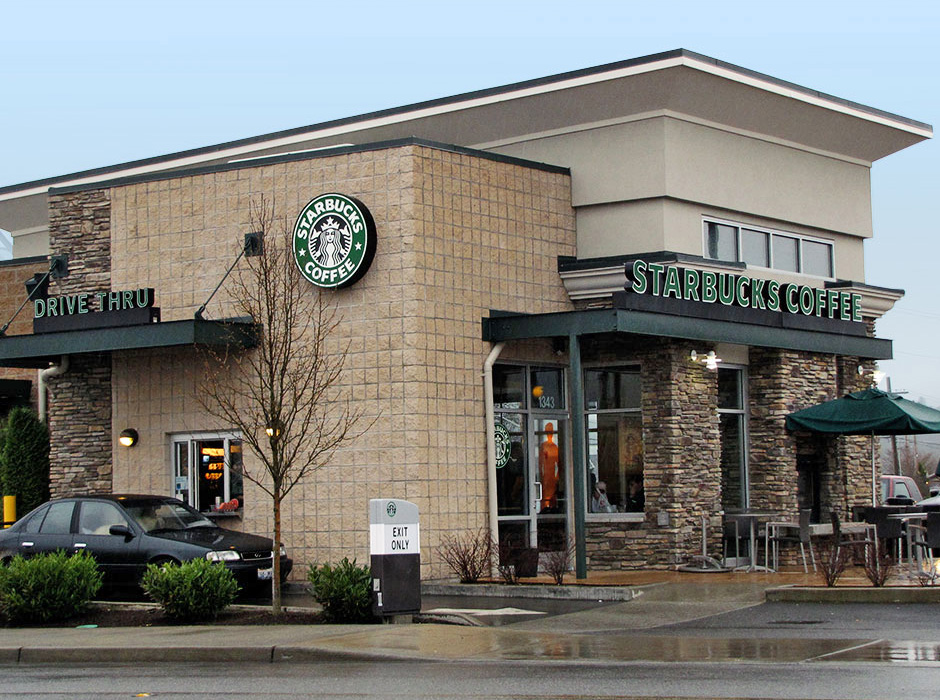 New Starbucks Building